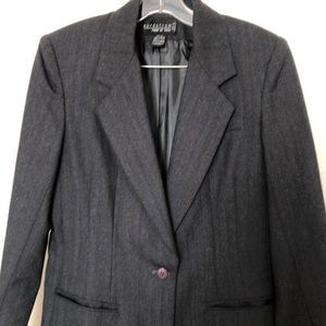 Wool two piece vintage suit